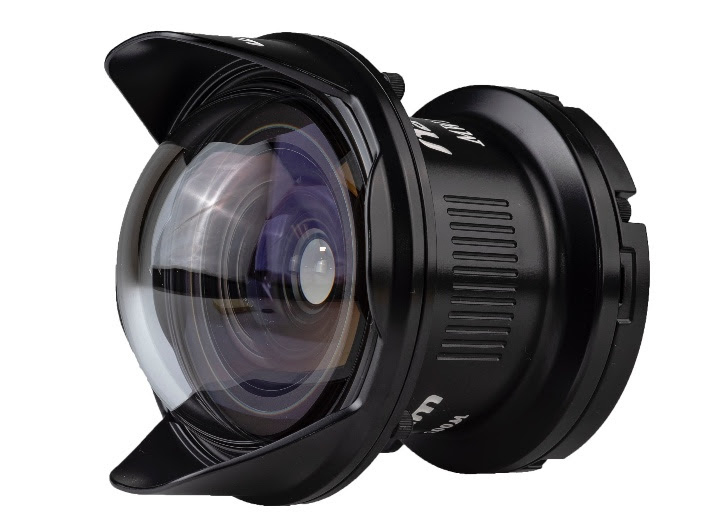 MWL-1 Fisheye Conversion Lens for 60mm Macro Lens